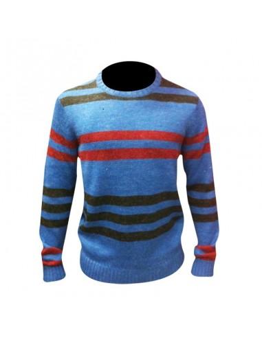 Maglione ANALOG colore blue righe...