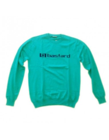 Maglione BASTARD logo frontale verde
