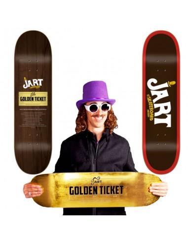 Tavola Skateboard JART Factory Golden...