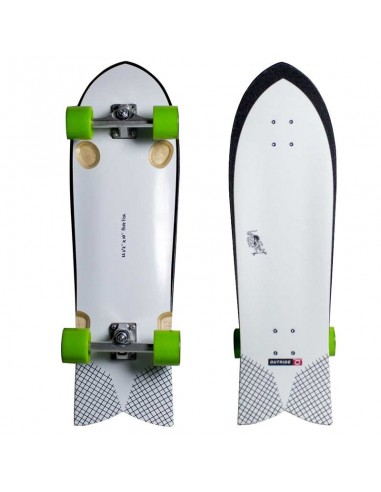 """OUTRIDE Surf Skate Ride Fish 33,5″ x 10"""""""